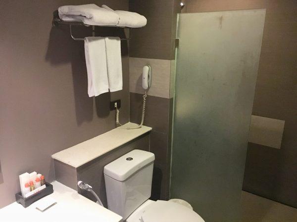デラックス コートヤード (Deluxe Courtyard)のシャワールーム