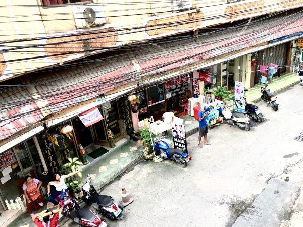 ベスト コーナー ホテル パタヤ (Best Corner Hotel Pattaya)の部屋からの景色