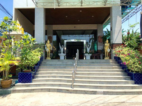 ホアヒン ロフト マネージド バイ ロフト グループ(Hua Hin Loft Managed by Loft Group)の玄関