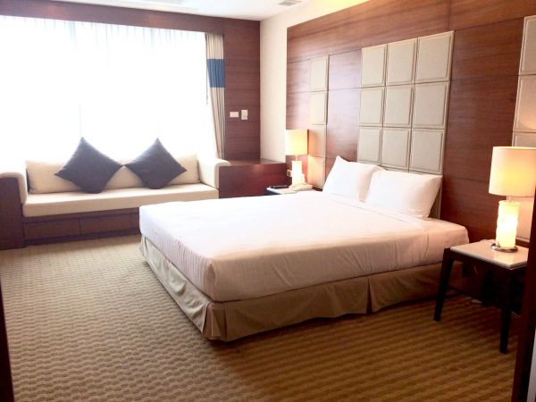 ジャスミンシティホテルの客室1