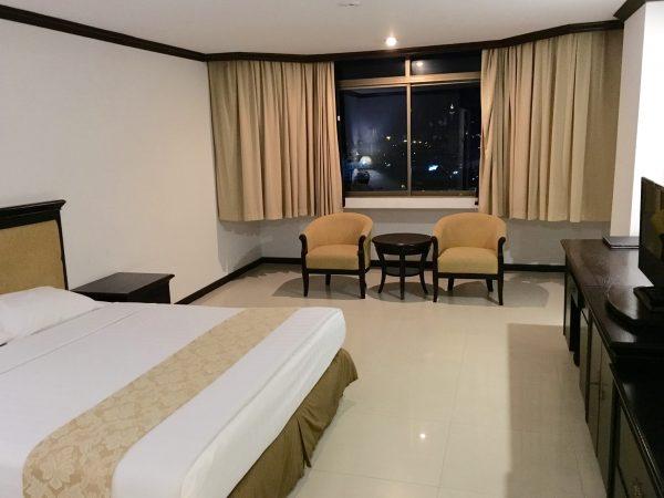 パタヤセンターホテル 客室1