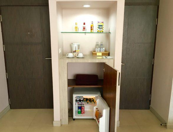 トロピカーナホテル 冷蔵庫