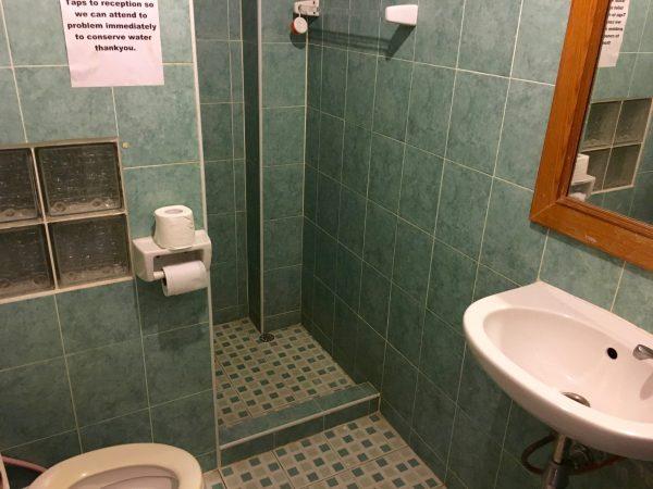 バレンタインズホテル シャワールーム