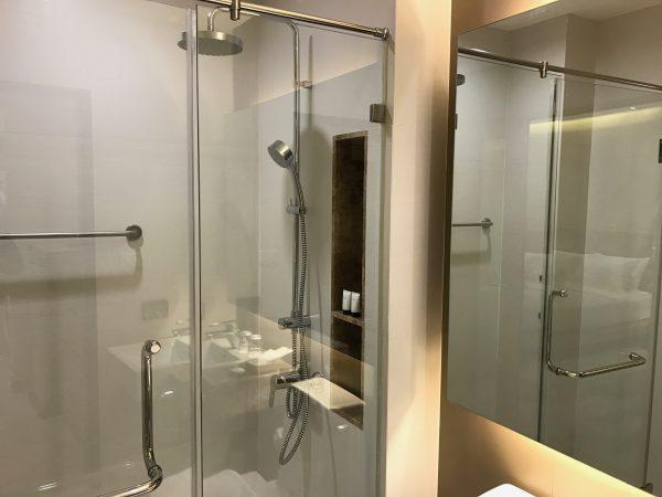 W 14 ホテル (W 14 Hotel)のシャワールーム2