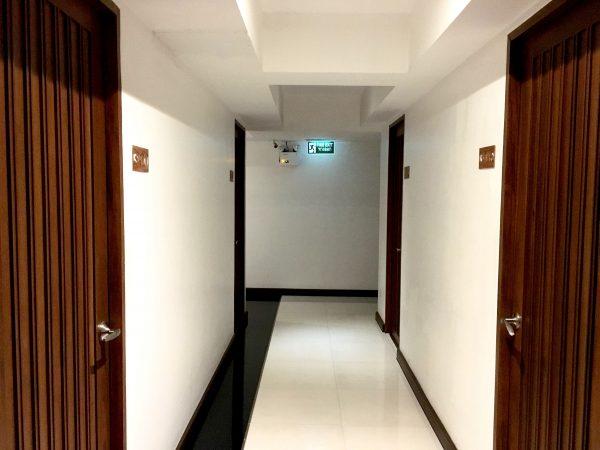 ホワイト ハウス アソーク スクンビット 18の廊下