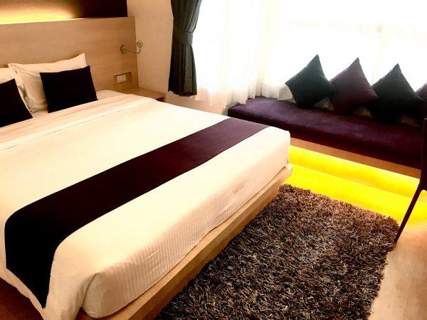 アライズホテル スクンビット (Arize Hotel Sukhumvit)の客室1