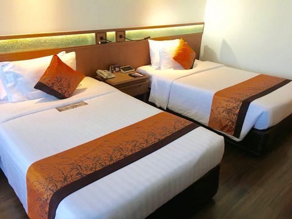 バンコク ホテル ロータス ベッド