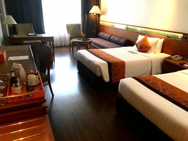 バンコク ホテル ロータス スクンビット マネージド バイ アコール (Bangkok Hotel Lotus Sukhumvit – Managed by Accor)の客室2