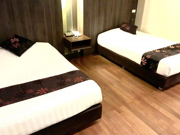 D ヴァリー ディバ バリー シーロム バンコク ホテル (D Varee Diva Bally Silom Bangkok Hotel)の客室1