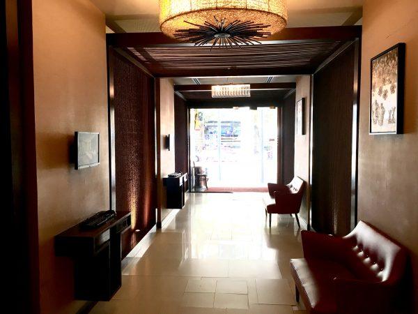 D ヴァリー ディバ バリー シーロム バンコク ホテル (D Varee Diva Bally Silom Bangkok Hotel)のエントランス