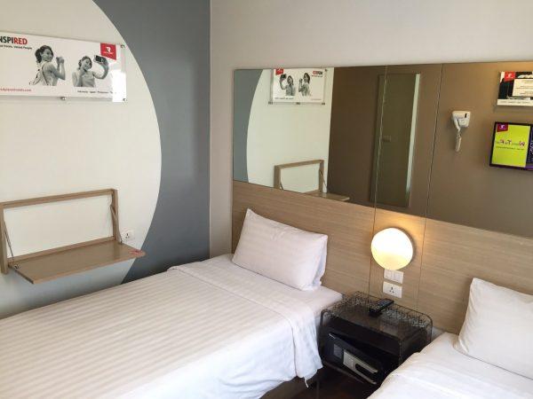 レッドプラネットホテルアソーク 客室1
