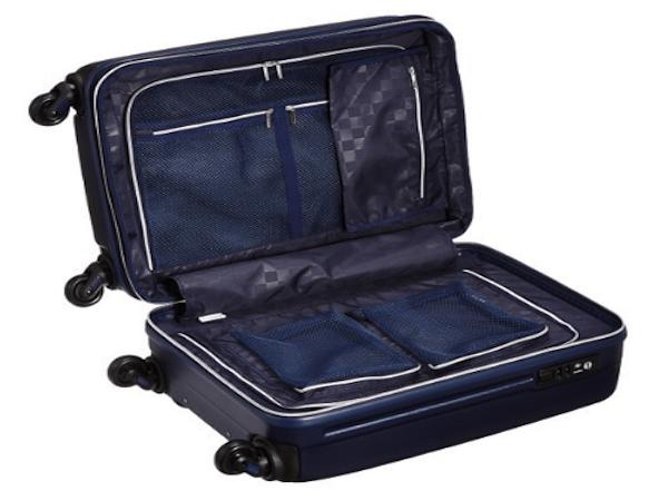 両サイド密封型スーツケース2