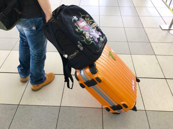 高さ100cmのスーツケース