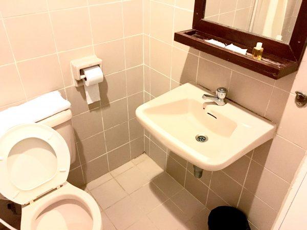 スタンダード ダブルルーム (Standard Double Room)のシャワールーム1
