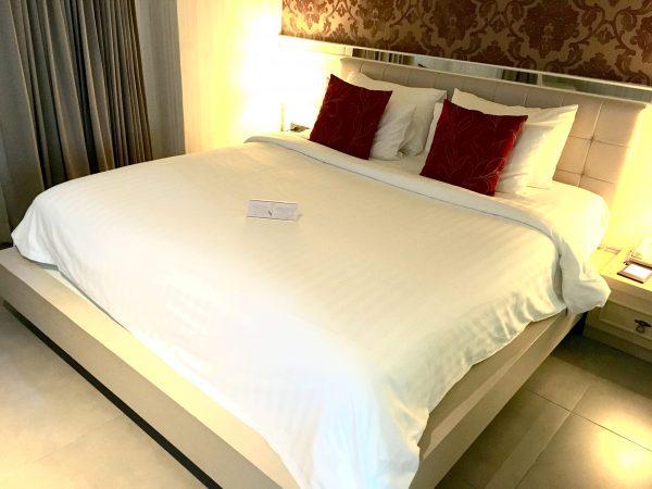 ザ ラヤ スラウォン ホテル (The Raya Surawong Hotel)のベッド