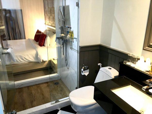 スーペリアルーム (Superior Room)のシャワールーム