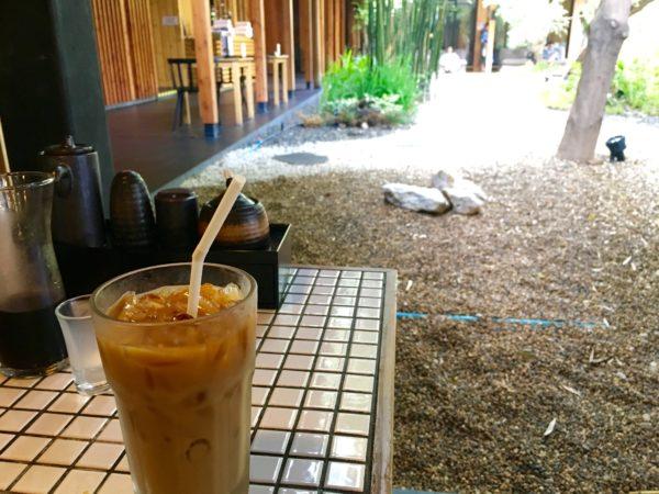 湯の森温泉 コーヒー