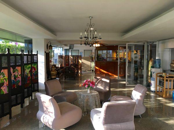 ガレリアサブウェイホテル レセプション