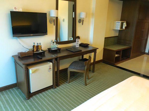 クルンシリ リバー ホテル 客室2