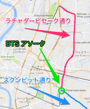 ラチャダーピセーク MAP