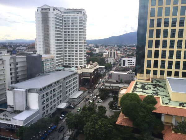 ロイヤル ランナ ホテル 高層階からの風景1
