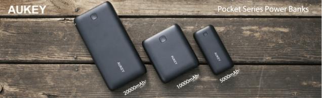 AUKEYのモバイルバッテリー 全てのモデル