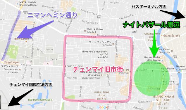 チェンマイCityマップ