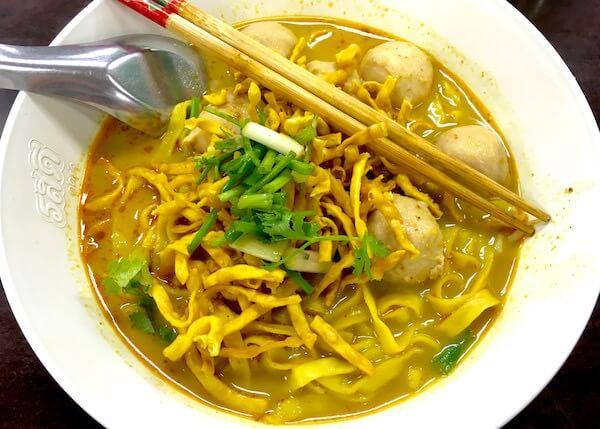 チェンマイで美味しいカオソーイが食べられるレストランを3店紹介します。