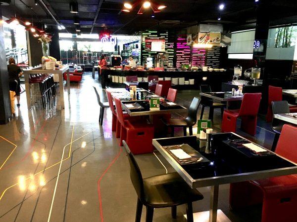 ガレリア 10 スクンビット バイ コンパス ホスピタリティ (Galleria 10 Sukhumvit by Compass Hospitality)の朝食会場