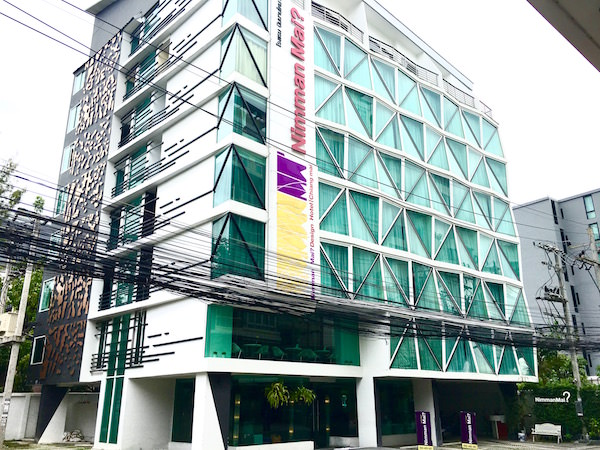 ニマン マイ デザイン ホテル チェンマイ バイ コンパス ホスピタリティ(Nimman Mai Design Hotel Chiang Mai by Compass Hospitality)の外観