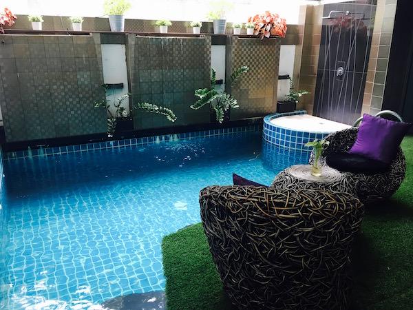 ニマン マイ デザイン ホテル チェンマイ バイ コンパス ホスピタリティ(Nimman Mai Design Hotel Chiang Mai by Compass Hospitality)のプール