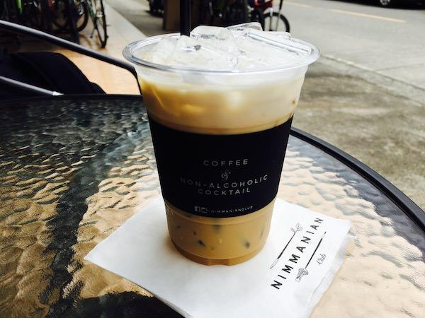 ニマンニアンクラブのコーヒー