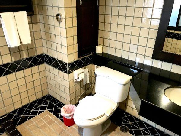 ラミン ロッジのシャワールーム