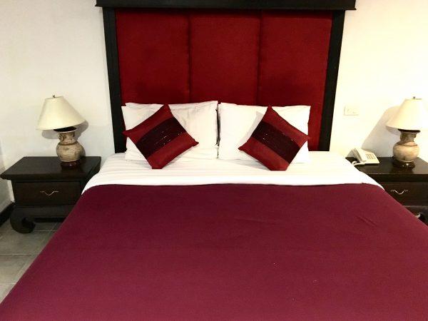 ラミン ロッジのベッド