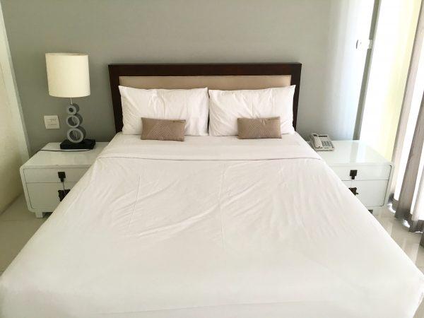 ザ・エンパイヤ レシデンス ニンマン (The Empire Residence Nimman)のベッド