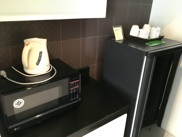 ザ・エンパイヤ レシデンス ニンマンの冷蔵庫