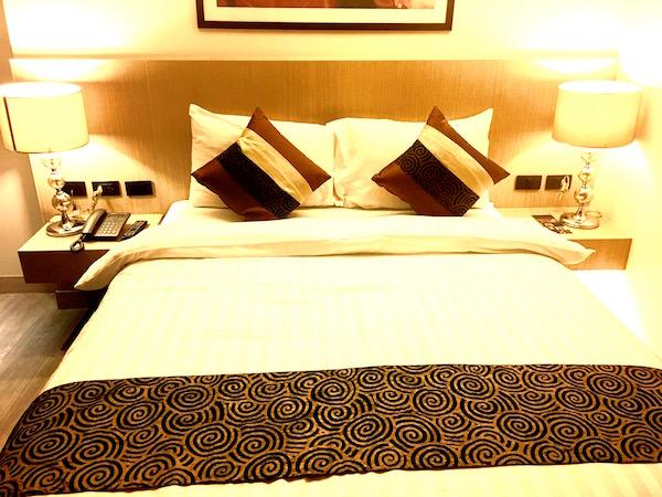アイチェック イン ナナ(iCheck Inn Nana)のベッド