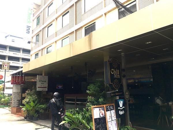 アイチェック イン ナナ(iCheck Inn Nana)の外観