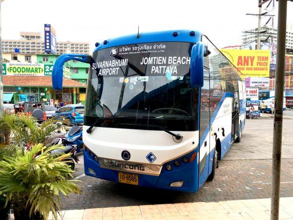 スワンナプーム国際空港行きのバス