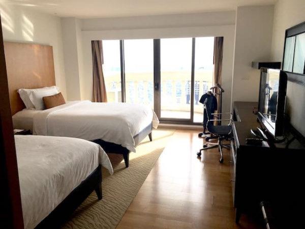 ルブア アット ステートタワーのベッドルーム