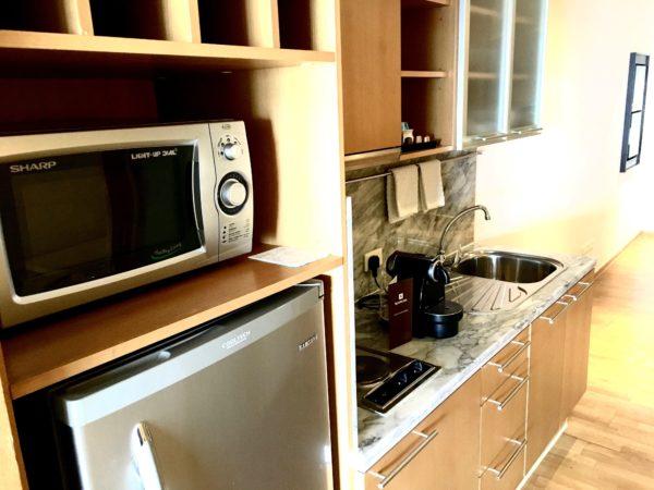 ルブア アット ステートタワーのキッチン