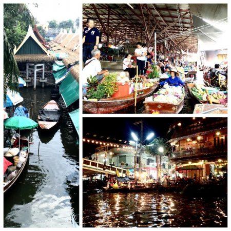 タイにある3つの水上マーケット