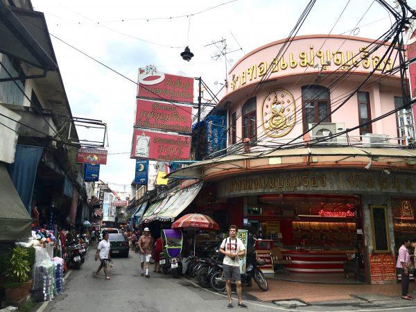 チェンマイのチャイナタウン