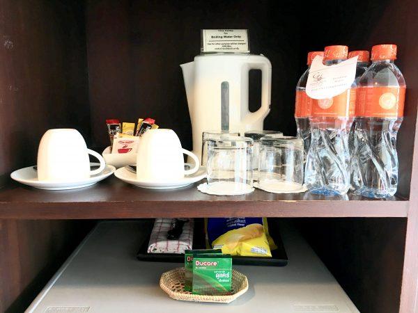 グランドホテル パタヤ (Grand Hotel Pattaya)の湯沸かし機など
