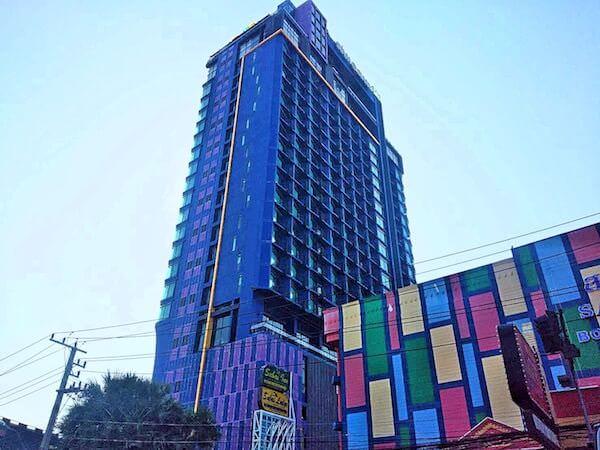 サイアム アット サイアム デザイン ホテル パタヤ(Siam @ Siam Design Hotel Pattaya)の外観
