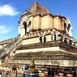 ワット チェディ ルアン(Wat Chedi Luang)の仏塔