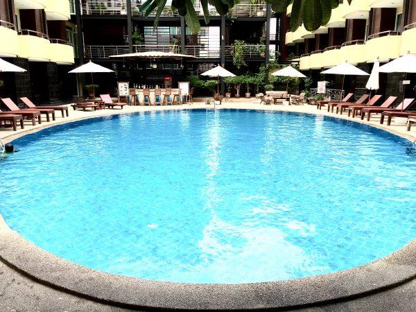 バロン ビーチ ホテル (Baron Beach Hotel)のプール