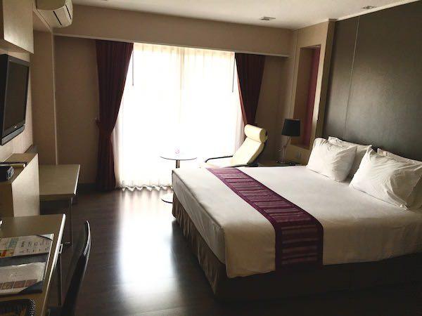 グランド タワー イン スクンビット 55 ホテル (Grand Tower Inn Sukhumvit 55 Hotel)の客室1
