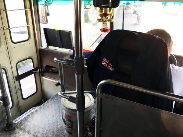 北バスターミナル行きのバス