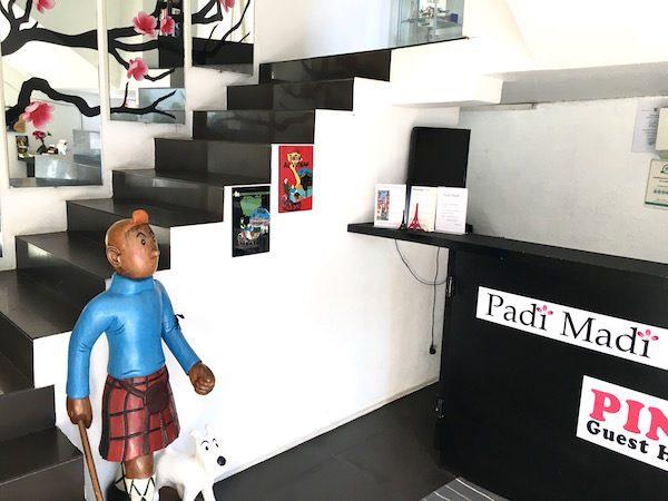 パディ マディ ブティック ゲスト ハウス (Padi Madi Boutique Guest House)のエントランス